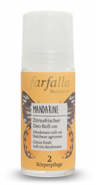 Mandarine, zitrusfrischer Deo Roll-on